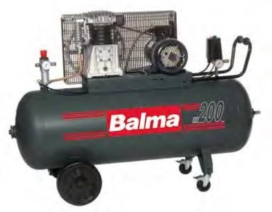 KLIPNI KOMPRESOR BALMA 200L