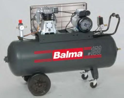 KLIPNI KOMPRESOR BALMA 150L